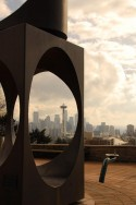 Overlooking Downtown Seattle From Queen Anne's Southwest Slope