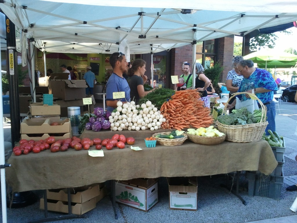 queen anne farmer's market